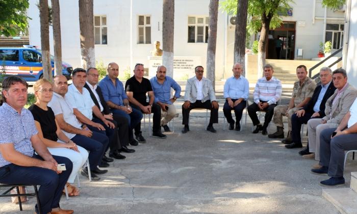 NTO'dan Jandarma Komutanına ziyaret