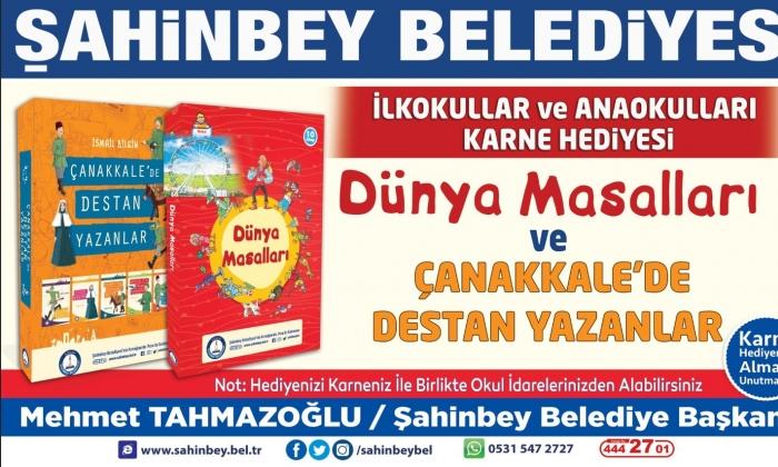 Kitaplar Şahinbey'den