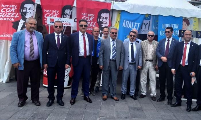 İyi Parti Gaziantep teşkilatı İstanbul'da
