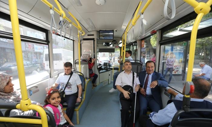 Toplu taşımada Engelli uyumluluğu